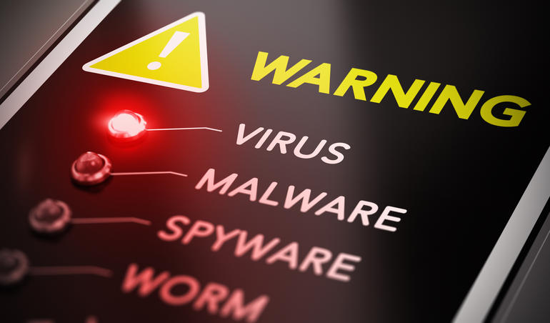 virus and malware