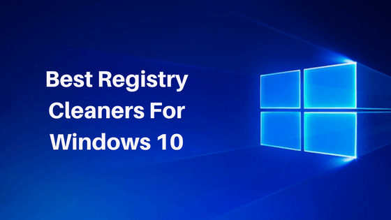 how to clean registry windows 10