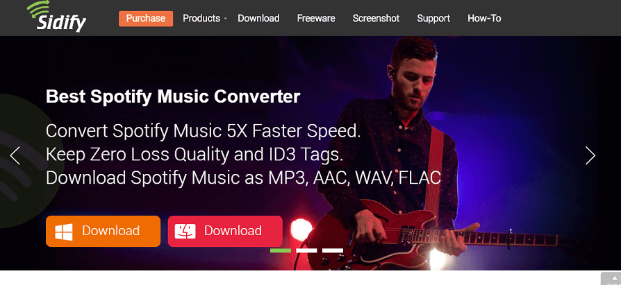 Sidify Music Converter For Spotify