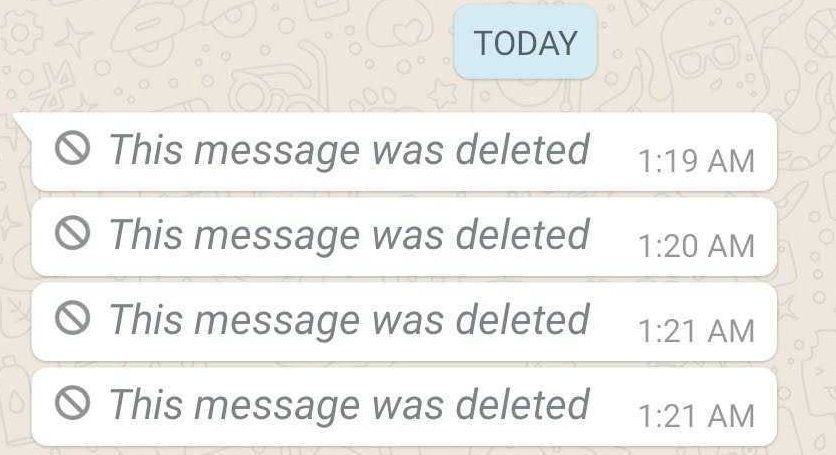This message was deleted in WhatsApp