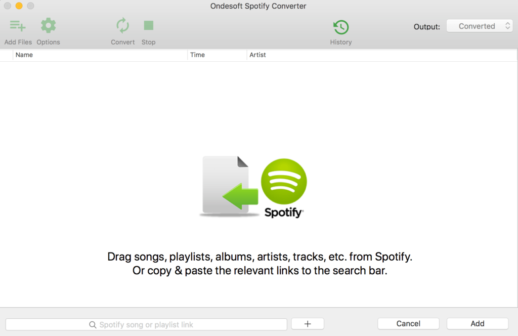 Ondesoft Spotify To mp3 Converter