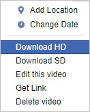 Download video on HD format