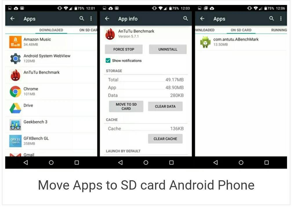 move apps to SD card using default settings