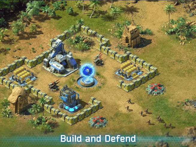 Battle for the Galaxy strategy game app