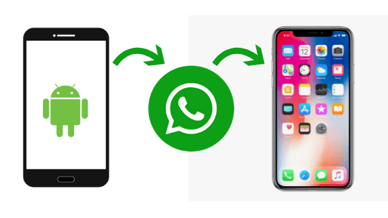 how to backup WhatsApp from Android to iPhone