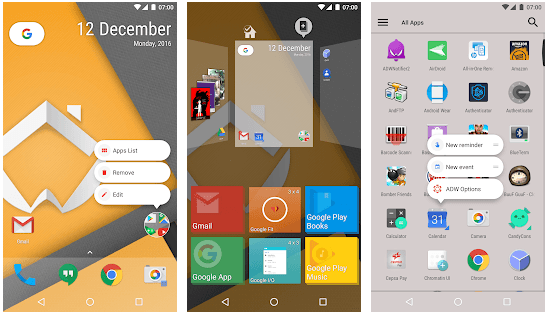 Android launcher best Android launcher app