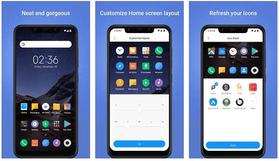 Poco Launcher app