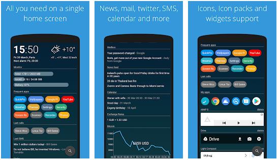AIO Launcher app