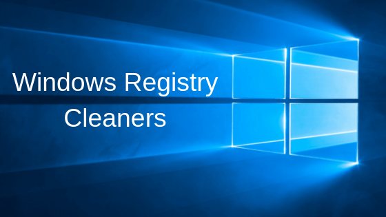 best registry cleaners for Windows 10