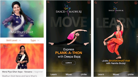 Dance with Madhuri app