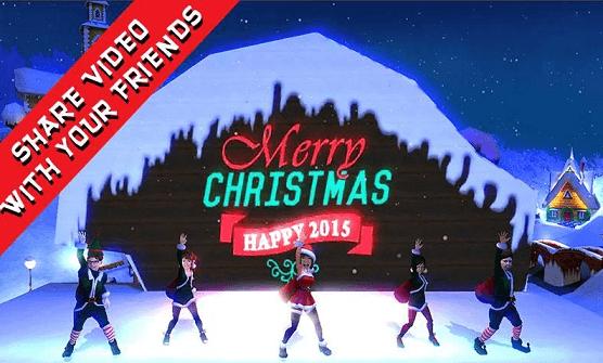 Elf Dance app