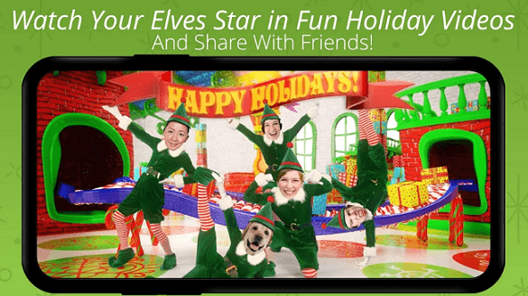 ElfYourself by Office Depot app