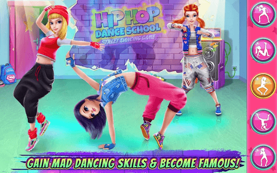 Hip Hop Dance School Game app