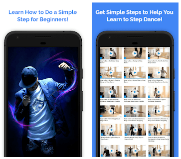 Step Dance Move app