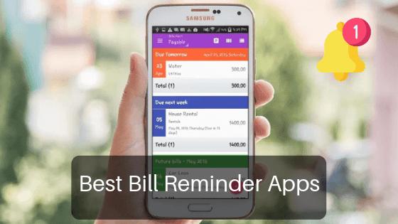 best bill reminder app