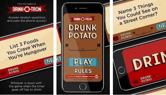 Drunk Potato game