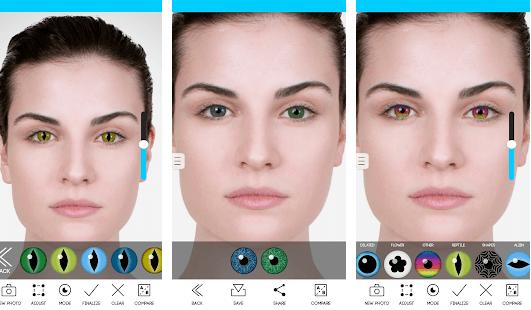Eye Color Studio app