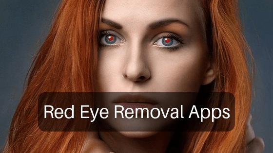 red eye removal app