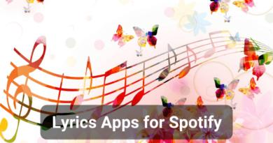 lyrics apps for Spotify