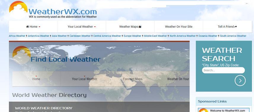 Weatherwx website