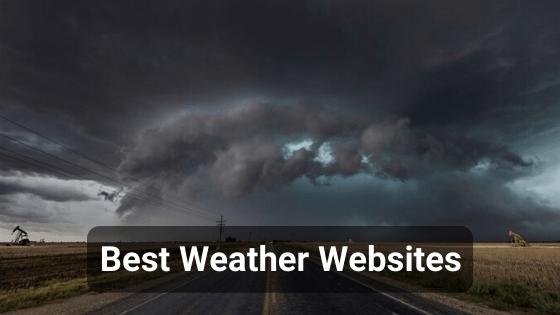 Best weather websites