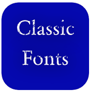 Classic Font Style Android app