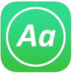AnyFont iOS app