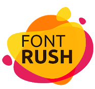Font Rush Android app