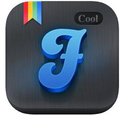 Cool Fonts iOS app