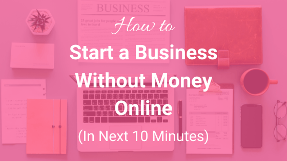 Start a business online
