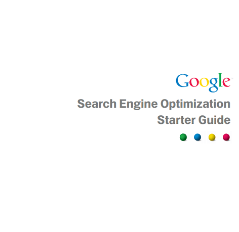 Search Engine Optimization Starter Guide eBook