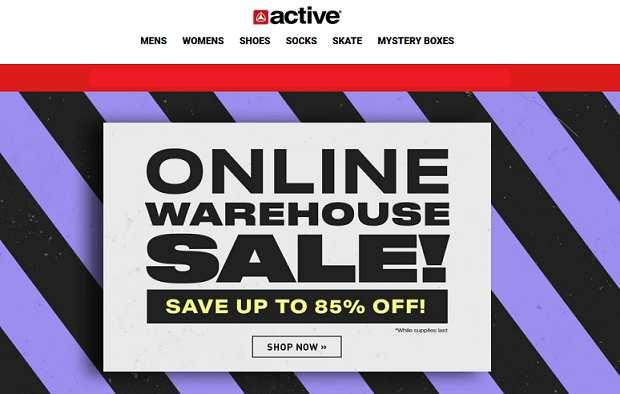 Active website