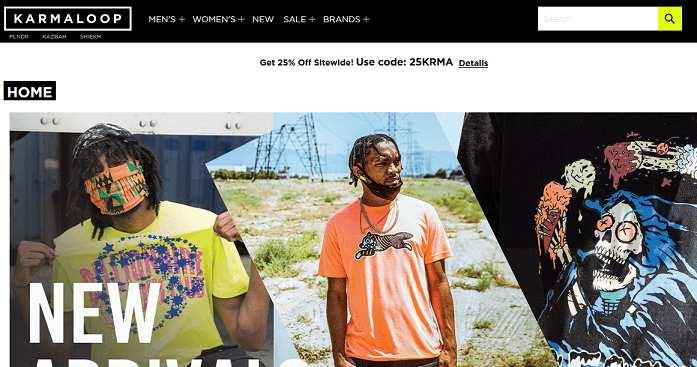 Karmaloop website