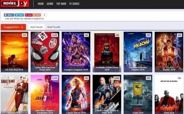 MoviesJoy website
