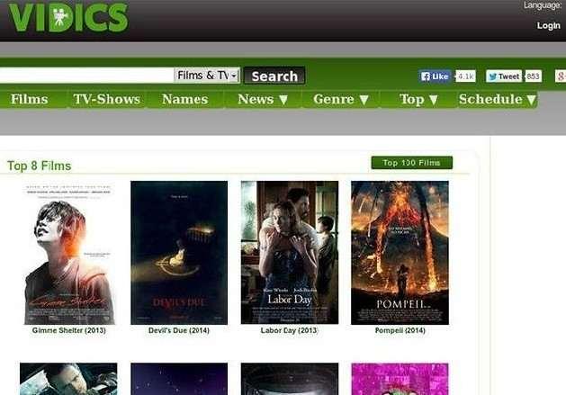 Vidics website