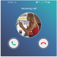 Fake call girlfriend prank app