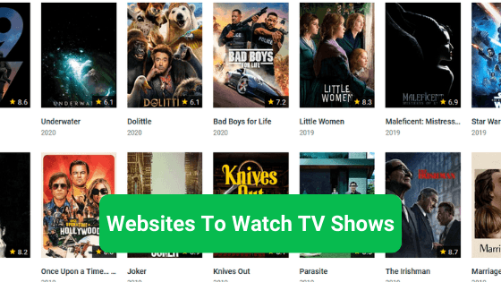 Websites To Watch TV Shows