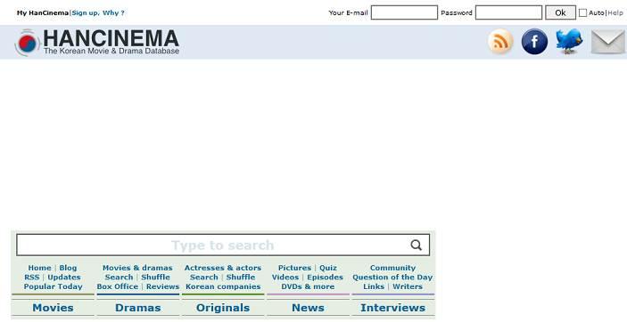 HanCinema website