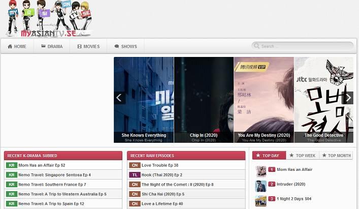 MyAsianTV website