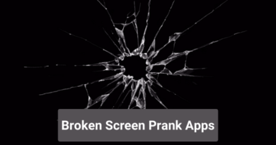 Broken Screen Prank Apps