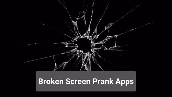 Broken Screen Prank Apps