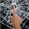 Broken Glass Prank app