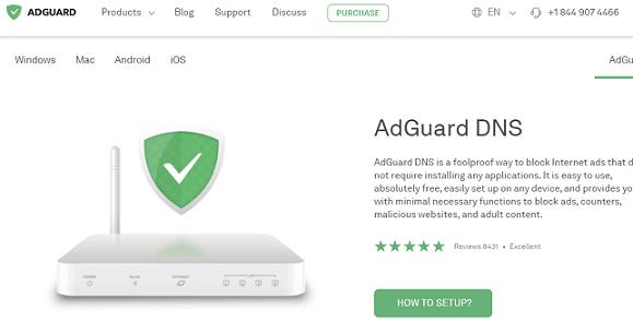 AdGuard website