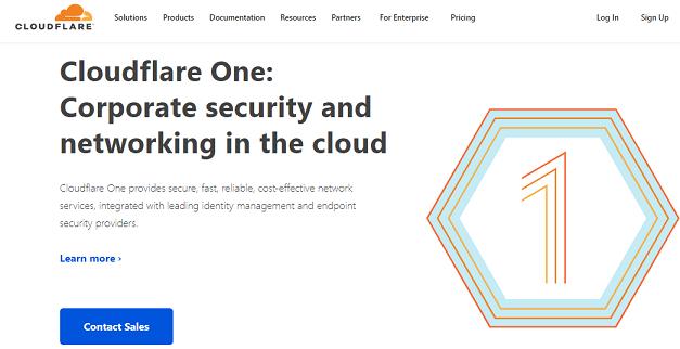 Cloudflare website