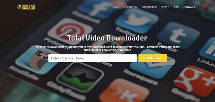 Total Video Downloader Website